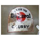 14X14 DELAVAL SIGN