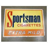 20X28 SPORTSMAN CIGARETTES SIGN