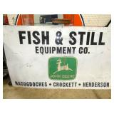 49X84 FISH & STILL JD SIGN