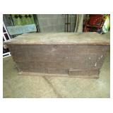 EARLY RANDOLPH CO. BLANKET CHEST