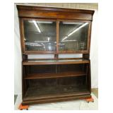 72X92 2PC. COUNTRY STORE CABINET