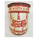 DOUBLE DOT PEPSI COLA BARREL