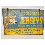 VIEW 2 OTHERSIDE JERSEYS SIGN W/ COW