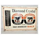 14X20 DIAMOND CRYSTAL EMB. SIGN