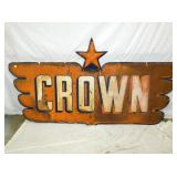 51X96 EMB. CROWN W/ STAR