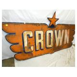 VIEW 2 ORIG. EMB. CROWN WING SIGN