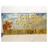 45X93 GOLDEN GUERNEYS SIGN
