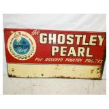 24X48 GHOSTLEY PEARL POULTRY SIGN
