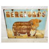 26X48 HEREFORDS SIGN