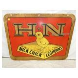 36X47 H&N NICK CHICK SIGN