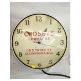 18IN CROSBYS JEWELERS CLOCK