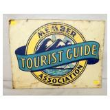 18X24 TOURIST GUIDE MEMBER SIGN