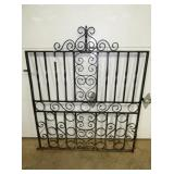 44X50 WROUGHT IRON GATE