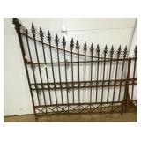 VIEW 2 12FT. OPENING WROUGHT IRON GATE