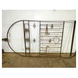 50X110 ARCHED TOP WROUGHT IRON GATE