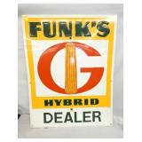 24X30 EMB. FUNKS DEALER SIGN