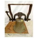ORIG. BRASS 15IN TRAIN BELL