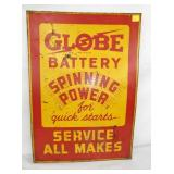 20X28 GLOBE BATTERY POWER SIGN