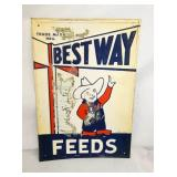10X18 EMB. BESTWAY FEEDS W/ FARMER