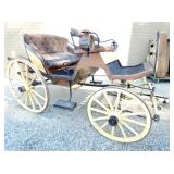 ALL ORIG. HORSE DRAWN CARRIAGE