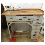 39X41 ALUM. TOOL WORK TABLE