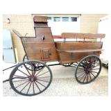 EARLY 10FT.  HORSE DRAWN STAGE COACH