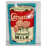 12X18 NOS CARNATION MILK SIGN