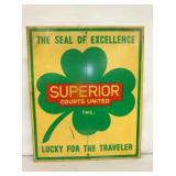 20X24 SUPERIOR LUCKY TRAVELER SIGN