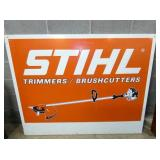 27X58 EMB. STIHL SIGN