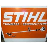 VIEW 2 CLOSEUP EMB. STIHL SIGN