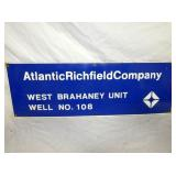 10X30 PORC. ATLANTIC RICHFIELD SIGN