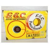 15X22 G.E.C CABLES PORC. FLANGE