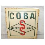 12X12 NOS 1967 COBA SELECT SIGN