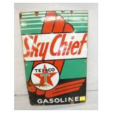 12X18 1947 PORC. SKY CHIEF SIGN