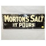 10X28 MORTON SALT SIGN