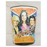 10X13 DUKES OF HAZZARD TRASH CAN