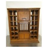 28X32 OAK POST OFFICE TELLER WINDOW