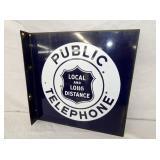 18X18 PORC. PUBLIC TELEPHONE FLANGE