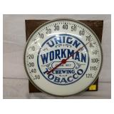 12IN UNION WORKMAN TOBACCO THERM.