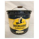 RICHLUBE 25LB. GREASE CAN