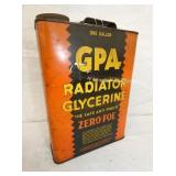 1G. GPA RADIATOR ANTIFREEZE CAN
