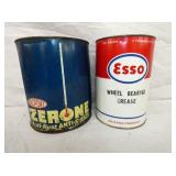 1G. ESSO, DUPONT CANS