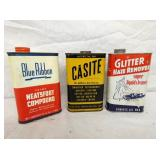PINT BLUE RIBBON, CASITE, GUTTER CANS