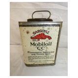 GARGOYLE MOBILOIL CAN