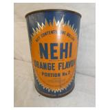 EARLY NEHI ORANGE FLAVOR CAN