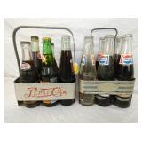 EARLY PEPSI CARRIERS W/ BOTTLES