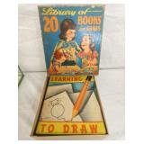EARLY ACTIVITY BOOK W/ ORIG. BOX