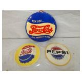 7-9IN PEPSI PATCHES AND BUTTON