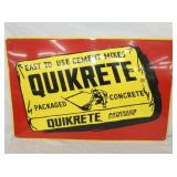 18X28 QUIKRETE MIXES SIGN