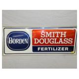 16X40 BORDEN SMITH DOUGLAS FERTILIZER SIGN